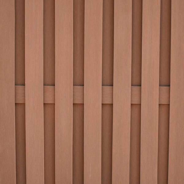 Holzlatten-Optik