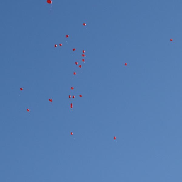 Luftballon-Himmel