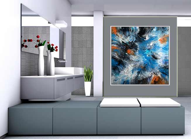 <h2>Abstrakte Wandbilder (auch als Wandbilder xxl, großes Wandbild)</h2>