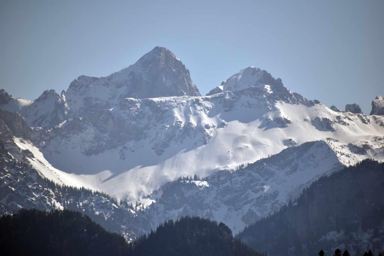 Alpen-Schnee