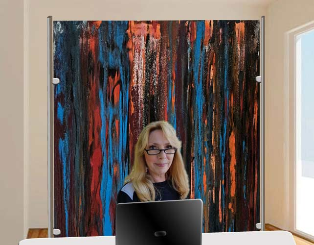 C.Kaminski Skype Videokonferenz Hintergrund