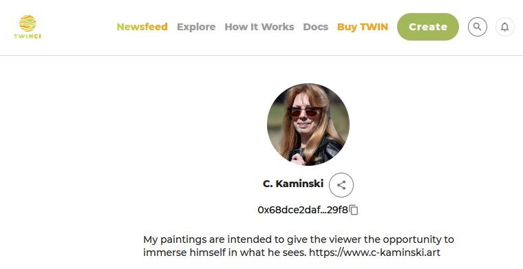 C. Kaminski Galerie auf Twinci